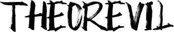 Theorevil Font