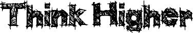 Think Higher Font