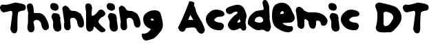 Thinking Academic DT Font
