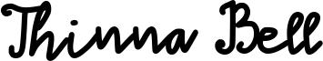 Thinna Bell Font