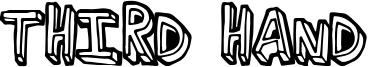 Third Hand Font