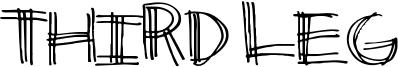 Third Leg Font