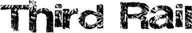 Third Rail Font