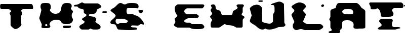 This Emulation Font