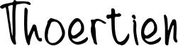 Thoertien Font