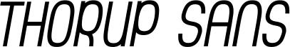 Thorup Sans Small Caps Italic.ttf