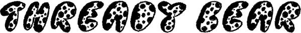 Thready Bear Font