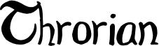 Throrian_Commonface.otf