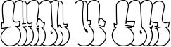 Throw-up Font Font