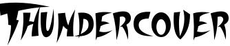 Thundercover Font