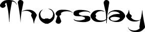 Thursday Font