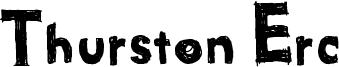 Thurston Erc Font