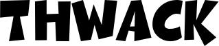 Thwack Font