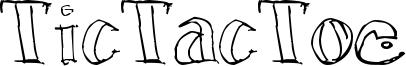 TicTacToe Font