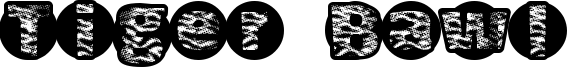 Tiger Bawl Font