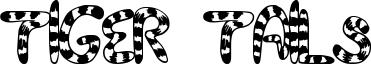 Tiger Tails Font