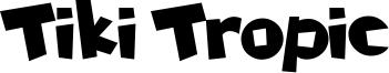Tiki Tropic Font
