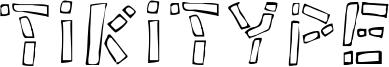 Tikitype Font