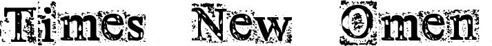 Times New Omen Font