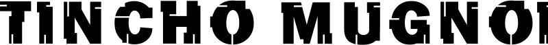 Tincho Mugnolo Font