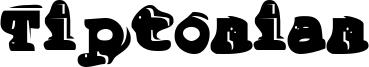 Tiptonian Font