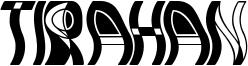 Tirahan Font
