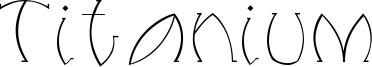 Titanium Font