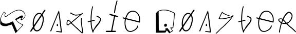 Toaztie Roaster Font