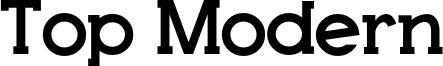 Top Modern Font