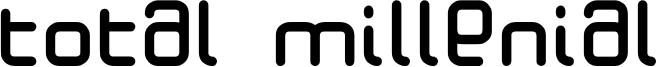 Total Millenial Font