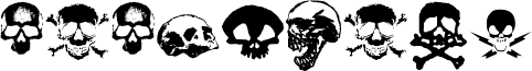 TotenKopf Font