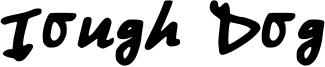 Tough Dog Font