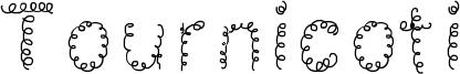 Tournicoti Font