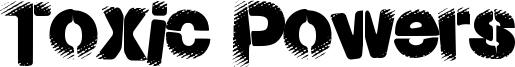 Toxic Powers Font