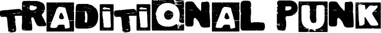 Traditional Punk Font