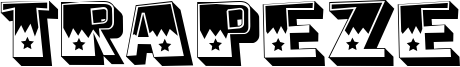 Trapeze Font