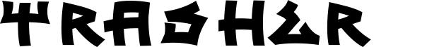 Trasher 2 Font