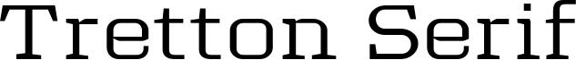 Tretton Serif Font