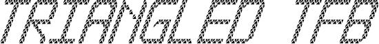 Triangled tfb cursive.ttf