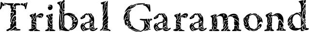 Tribal Garamond Font