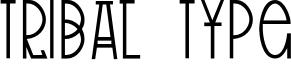 Tribal Type Font