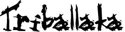Triballaka Font