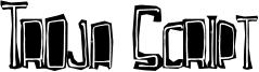 Troja Script Font