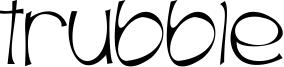 Trubble Font