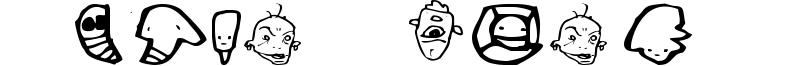 Truck Conky Choo Driver Font