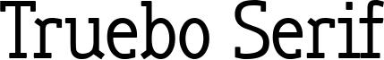 Truebo Serif Font