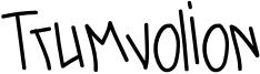 Trumvolion Font
