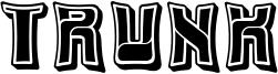 Trunk Font