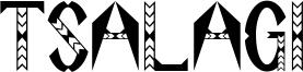 Tsalagi Font