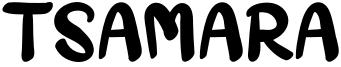 Tsamara Font